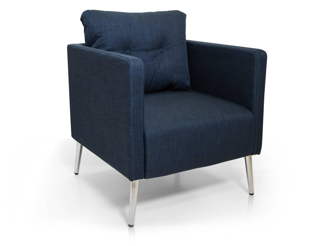 emilian sessel armlehnen sessel blau. Black Bedroom Furniture Sets. Home Design Ideas