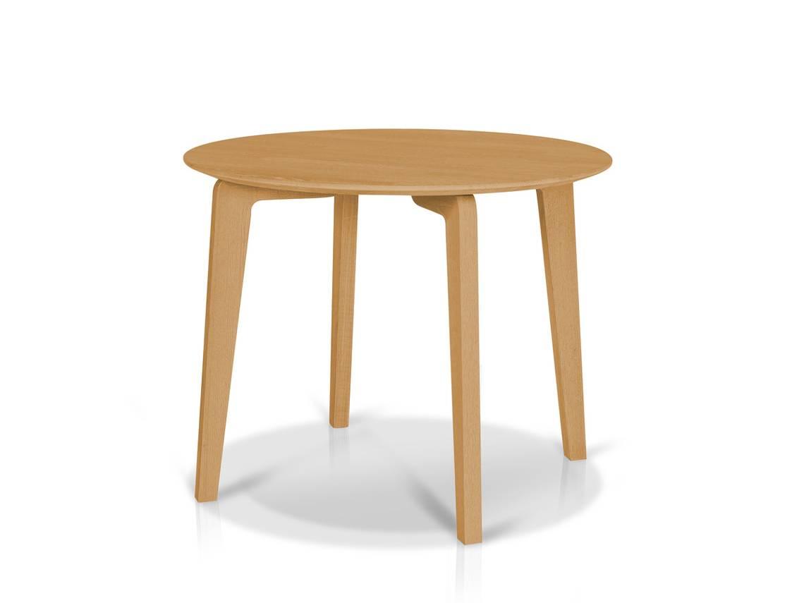 lani esstisch rund 95 cm massivholz eiche ge lt. Black Bedroom Furniture Sets. Home Design Ideas