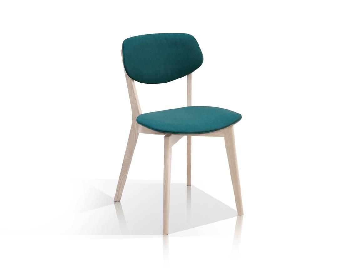 mike stuhl eiche t rkis. Black Bedroom Furniture Sets. Home Design Ideas