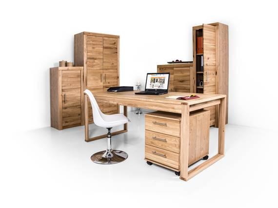 OFFICE FOUR komplett Büro, Material Teilmassiv Kernbuche teilmassiv DETAIL_IMAGE
