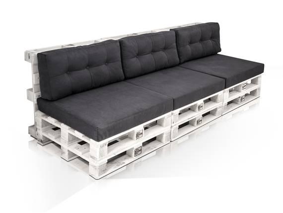 PALETTI 3-Sitzer Sofa aus Paletten Kiefer weiss lackiert  DETAIL_IMAGE
