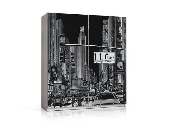 PATERO Schwebetürenschrank, Material Dekorspanplatte, Skyline  DETAIL_IMAGE
