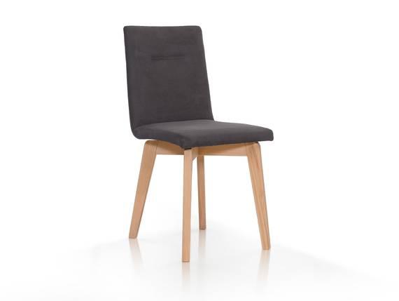 rosi polsterstuhl mit schwingr cken buche microfaser anthrazit. Black Bedroom Furniture Sets. Home Design Ideas