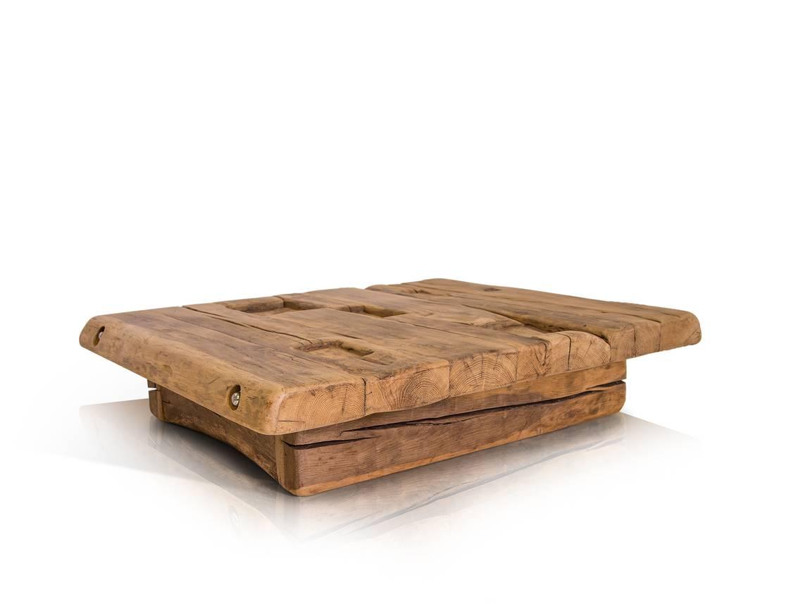 wikinger couchtisch 90x90 cm h he 22 cm material massivholz