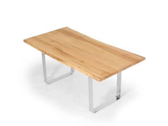ZWEIGELT Esstisch / Baumkantentisch / Maßesstisch, Material Massivholz  DETAIL_IMAGE