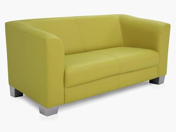 CHICAGO 2-Sitzer Sofa, Material Kunstleder grün DETAIL_IMAGE