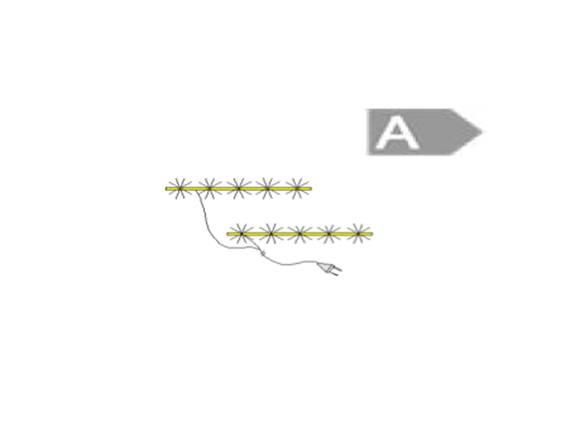 2er LED Beleuchtungsleiste weiss mit up+down-light 643 mm  DETAIL_IMAGE