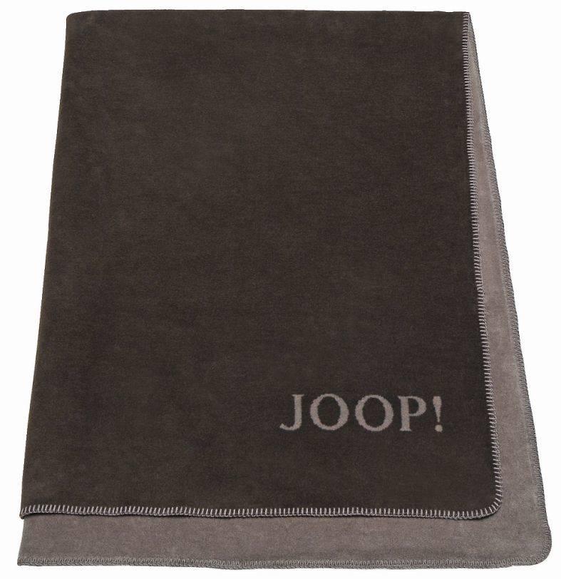 joop wohndecke uni doubleface 150 x 200 cm kakao. Black Bedroom Furniture Sets. Home Design Ideas