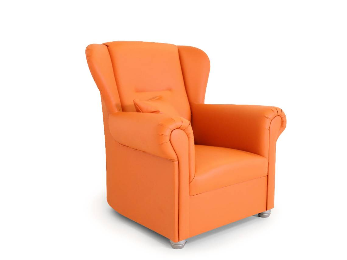 ally ohrensessel orange