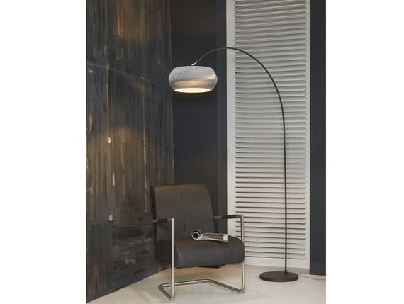 CAIDEN Stehlampe Bogenlampe weiss DETAIL_IMAGE
