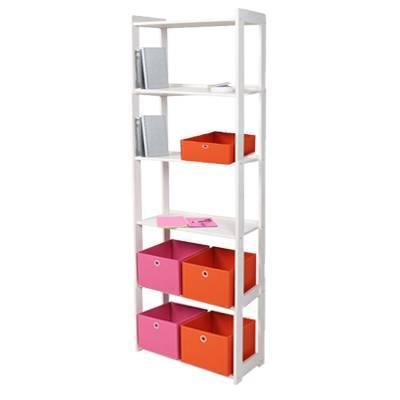 b cherregal kieferregal 6 b den kiefer wei. Black Bedroom Furniture Sets. Home Design Ideas