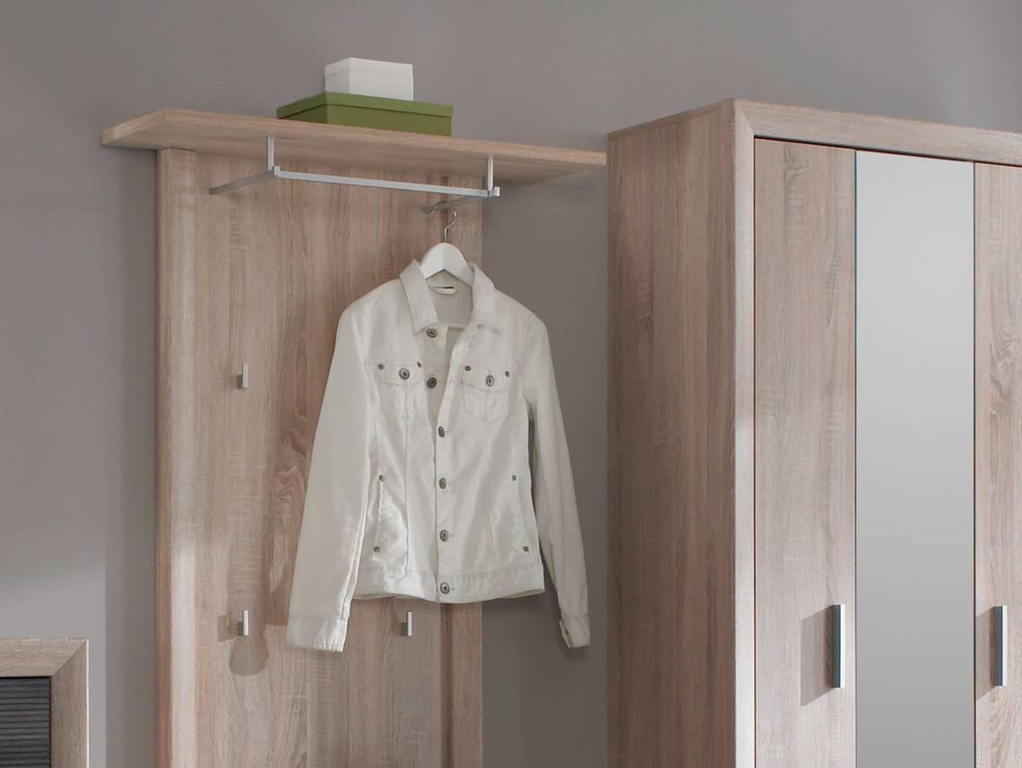 brandy garderobenpaneel paneel eiche sonoma. Black Bedroom Furniture Sets. Home Design Ideas
