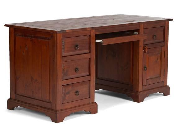 CESI Schreibtisch, Material Massivholz,  Pinie braun  DETAIL_IMAGE