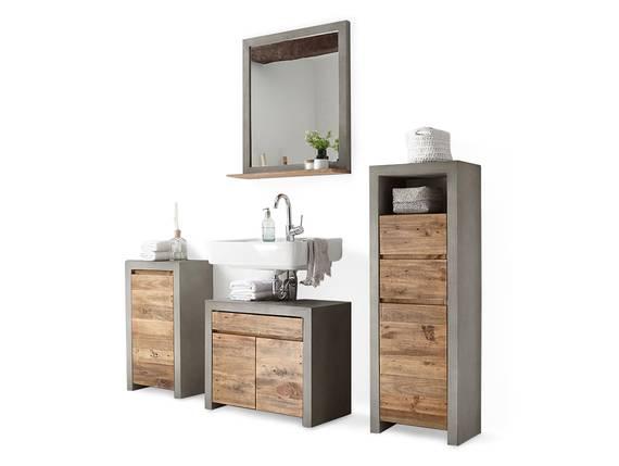 GLAY Badezimmerset II, Material Massivholz, Beton/Pinie  DETAIL_IMAGE