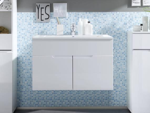 SANDRA Waschtisch mit Becken weiss  DETAIL_IMAGE