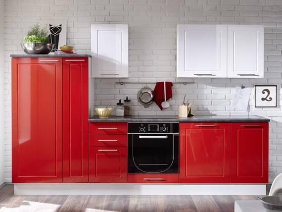 SOFIE Küchenblock, Material Dekorspanplatte, rot/weiss  DETAIL_IMAGE