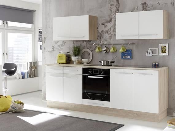 MIRA Küchenblock, Material Dekorspanplatte, Eiche sonomafarbig  DETAIL_IMAGE