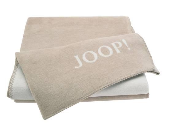 JOOP! Tagesdecke Uni-Doubleface sand/pergament DETAIL_IMAGE