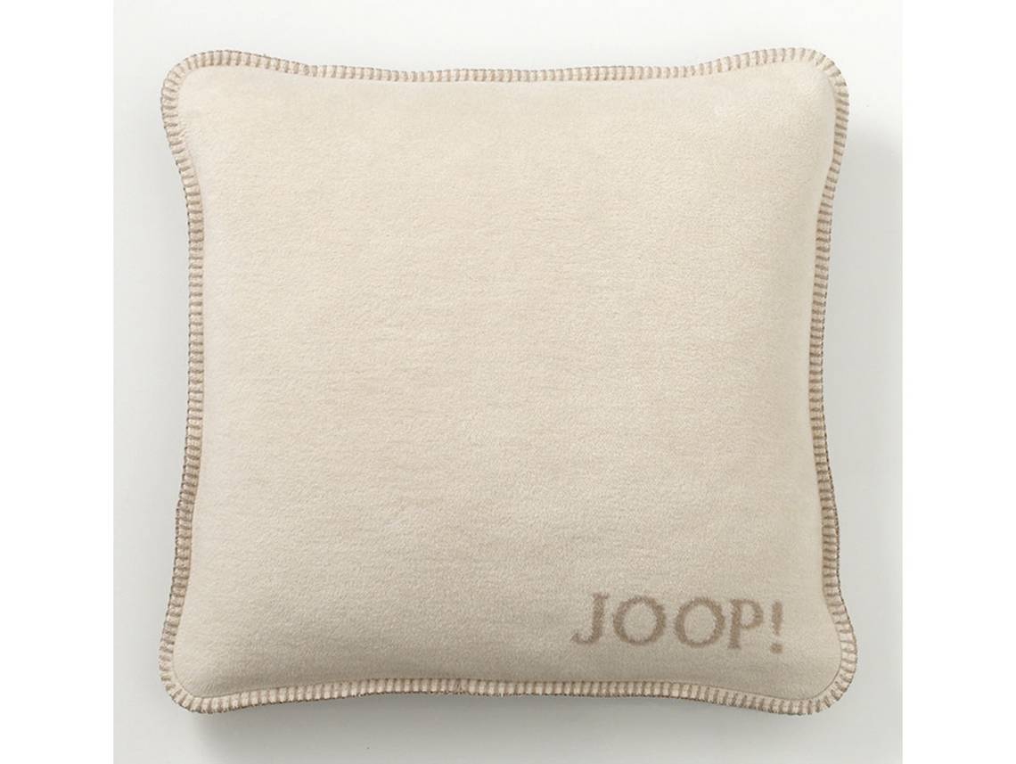 joop uni doubleface kissen mit f llung beige. Black Bedroom Furniture Sets. Home Design Ideas