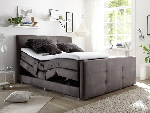 infinity boxspringbett elektrisch verstellbar 180x200 cm. Black Bedroom Furniture Sets. Home Design Ideas