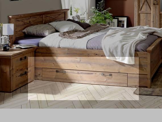 NIZZA Bettschubkasten, Material Dekorspanplatte, Bramberg fichtefarbig  DETAIL_IMAGE