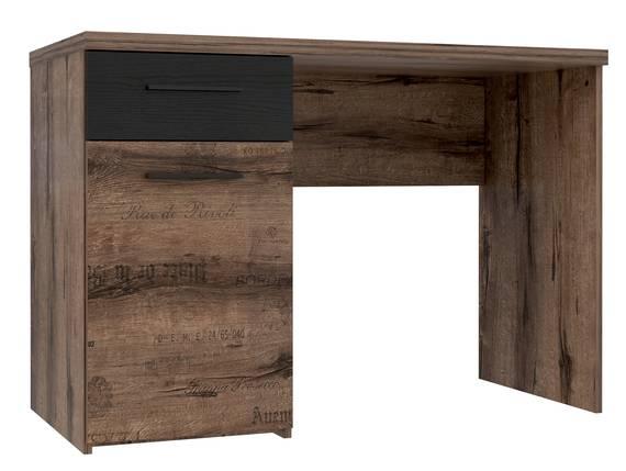 JESOLO Schreibtisch, Material Dekorspanplatte, schlammeichefarbig  DETAIL_IMAGE
