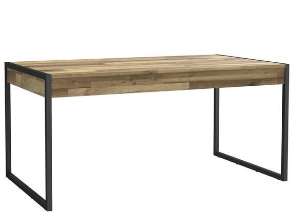 HANIKA Esstisch 166x90 cm, Material Dekorspanplatte, eichefarbig  DETAIL_IMAGE