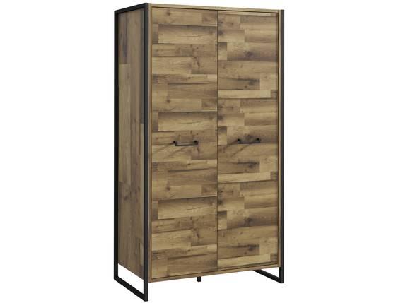 HANIKA Wäscheschrank, Material Dekorspanplatte, eichefarbig/betonfarbig  DETAIL_IMAGE