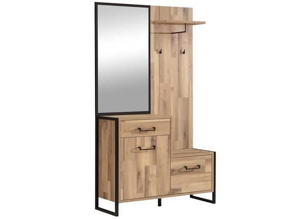 HANIKA Garderobe, Material Dekorspanplatte, eichefarbig  DETAIL_IMAGE
