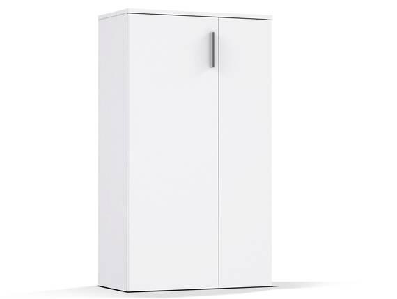 BARNA Schuhschrank 2-türig, Material Dekorspanplatte weiss  DETAIL_IMAGE