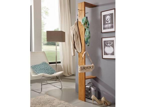VERONA Garderobe, Material Massivholz, Wildeiche geölt  DETAIL_IMAGE
