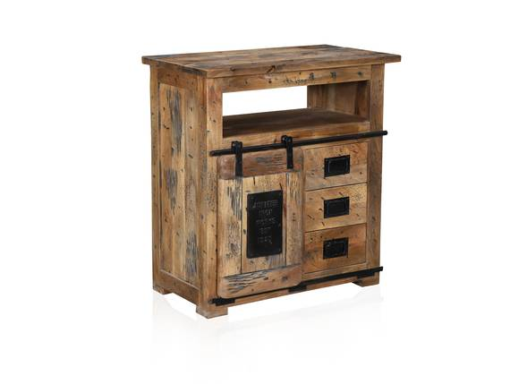 BRISTOL Sideboard VII, Material Massivholz, Mango rustikal  DETAIL_IMAGE