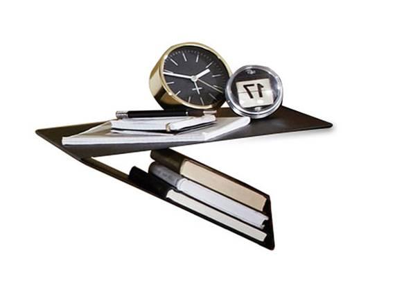 SANTERO Hängenachtkommode I mit Ablage, Material Metall, schwarz  DETAIL_IMAGE