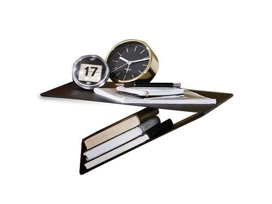 SANTERO Hängenachtkommode I mit Ablage, Metall, schwarz  DETAIL_IMAGE