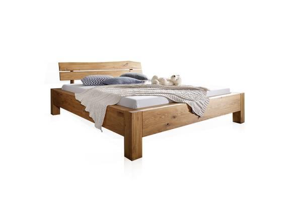 GIDEON Doppelbett 180x200 cm Wildeiche geölt, Material Massivholz  DETAIL_IMAGE