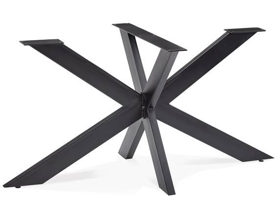 KABIRA Doppel-X, Material Metall, schwarz lackiert  DETAIL_IMAGE