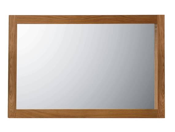 ALANDO Spiegel 130x70 cm, Rahmen Massivholz, Wildeiche geölt  DETAIL_IMAGE