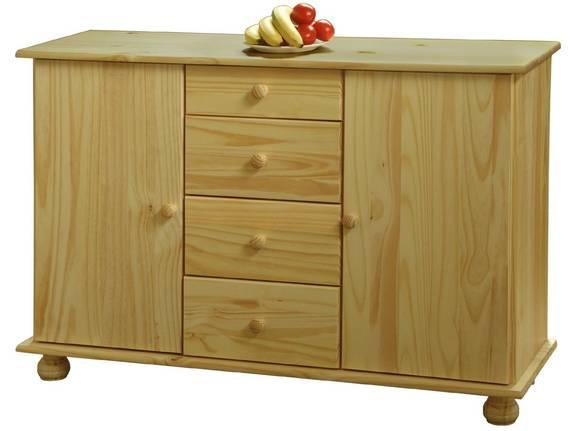 BERNA Sideboard / Kommode Buffet, Material Massivholz, Kiefer  DETAIL_IMAGE