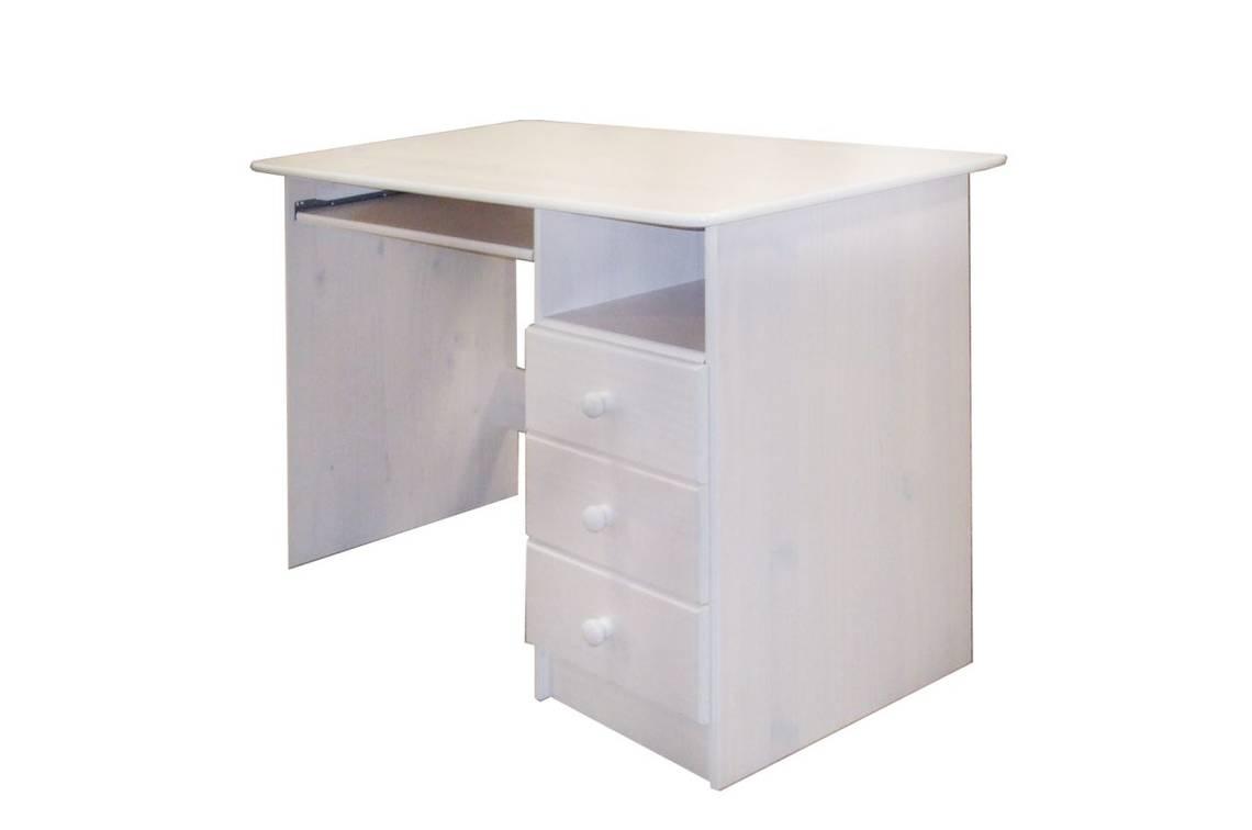 pc schreibtisch 8844 kiefer wei. Black Bedroom Furniture Sets. Home Design Ideas