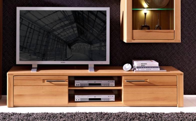 nestor plus tv unterteil 2 schubk sten 2 f cher kernbuche lackiert. Black Bedroom Furniture Sets. Home Design Ideas