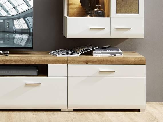 FELIPA Unterteil, Material MDF, weiss/eichenfarbig/Hirnholz Nachbildung  DETAIL_IMAGE