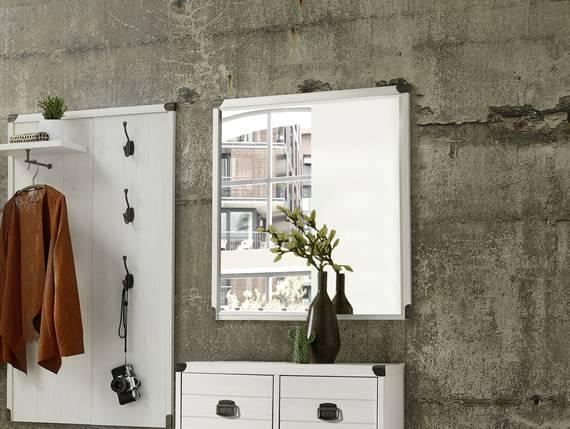 Bolt spiegel pinie hell 67x80 cm for Spiegel 90x80
