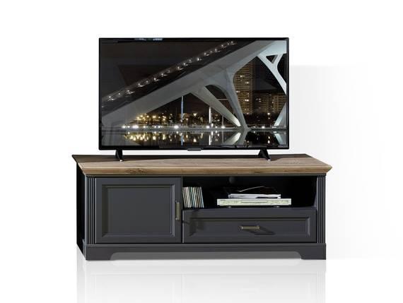 JADY TV-Unterteil 1, Material MDF graphitfarbig/eichefarbig DETAIL_IMAGE