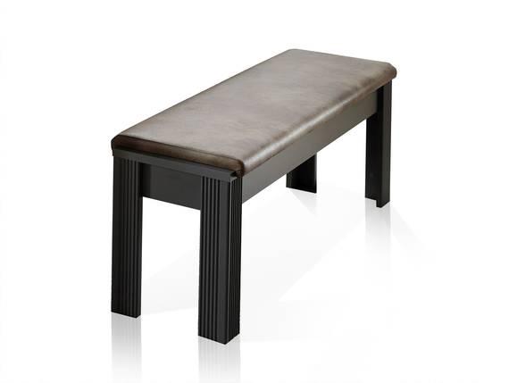 JADY Sitzbank mit Polsterung, Material MDF graphitfarbig/eichefarbig DETAIL_IMAGE