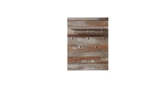 CAMENA Garderobenpaneel, Material MDF, Driftwood Nachbildung  DETAIL_IMAGE