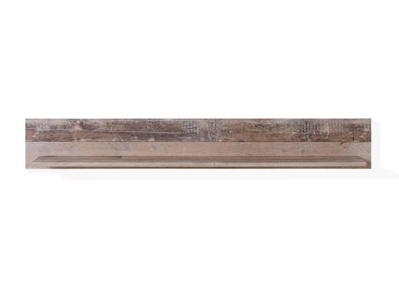RAMINA Wandregal, Material Dekorspanplatte, Used Style braun/anthrazit  DETAIL_IMAGE