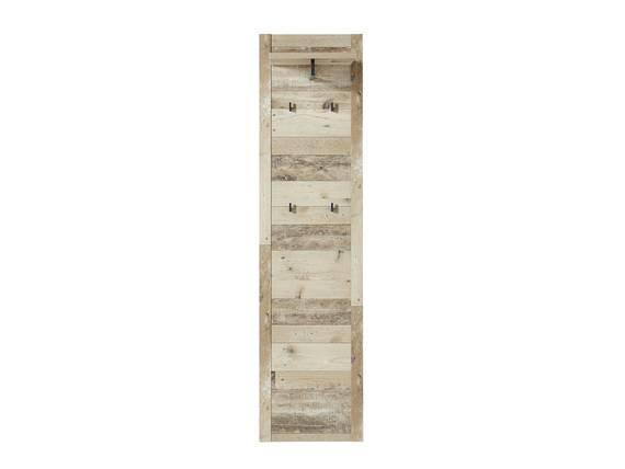 RAMINA Garderobenpaneel schmal, Material Dekorspanplatte, Used Style braun/anthrazit  DETAIL_IMAGE