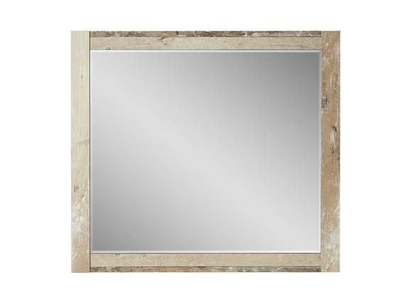 RAMINA Spiegel, Material Dekorspanplatte, Used Style braun 79 x 70 cm DETAIL_IMAGE