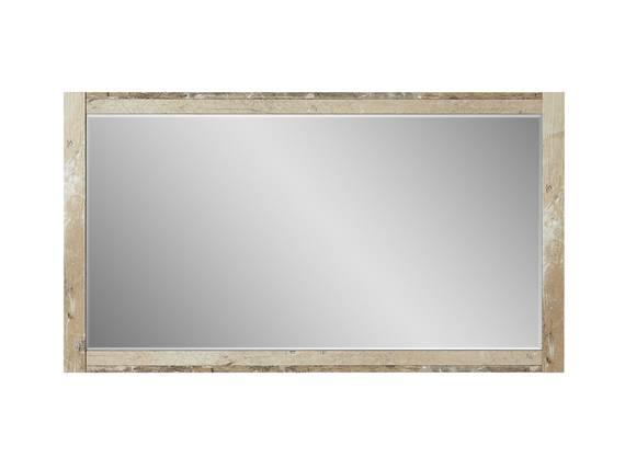 RAMINA Spiegel, Material Dekorspanplatte, Used Style braun 125 x 70 cm DETAIL_IMAGE