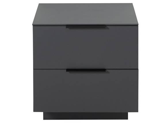 MOSANTA Unterteil klein mit Schubkästen, Material MDF graphitfarbig DETAIL_IMAGE